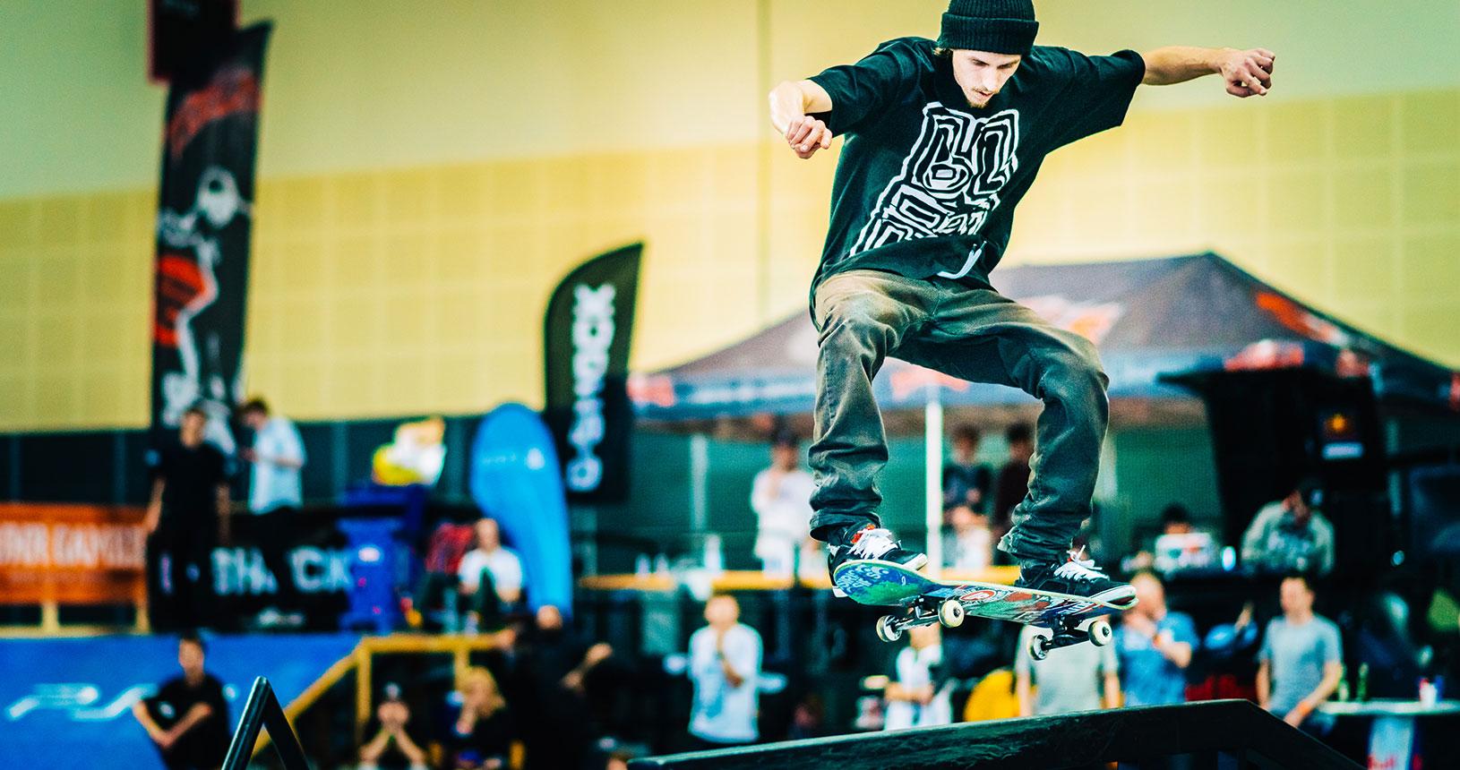Parcour Skateboard auf der RUFUS Bremen