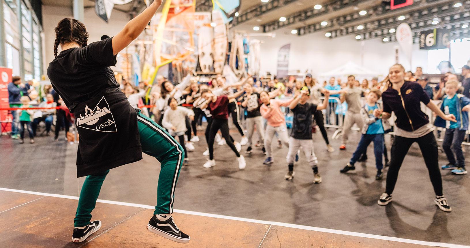 Streetdance auf der RUFUS Bremen