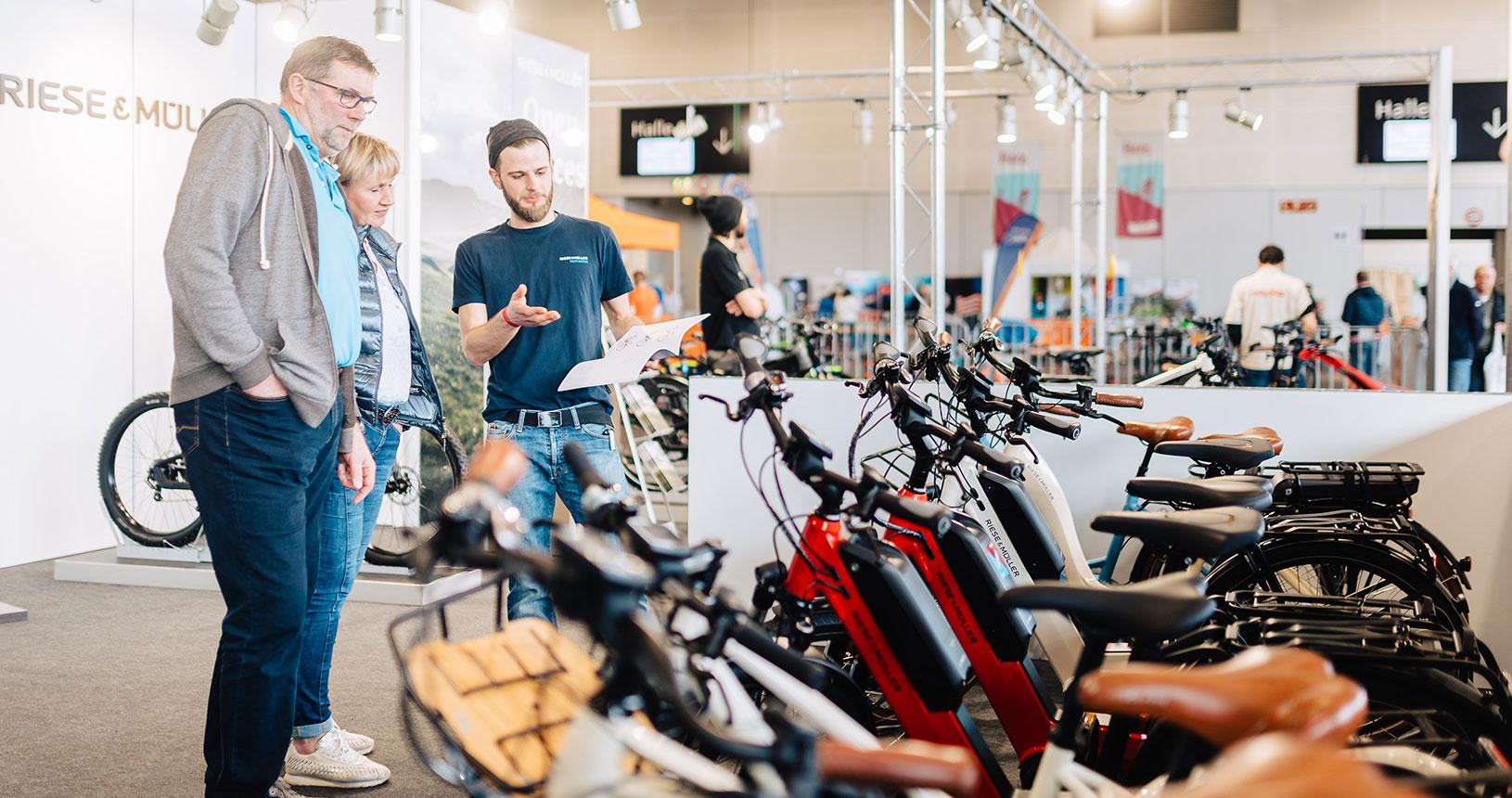 RUFUS Freizeit E-Bike in der MESSE BREMEN