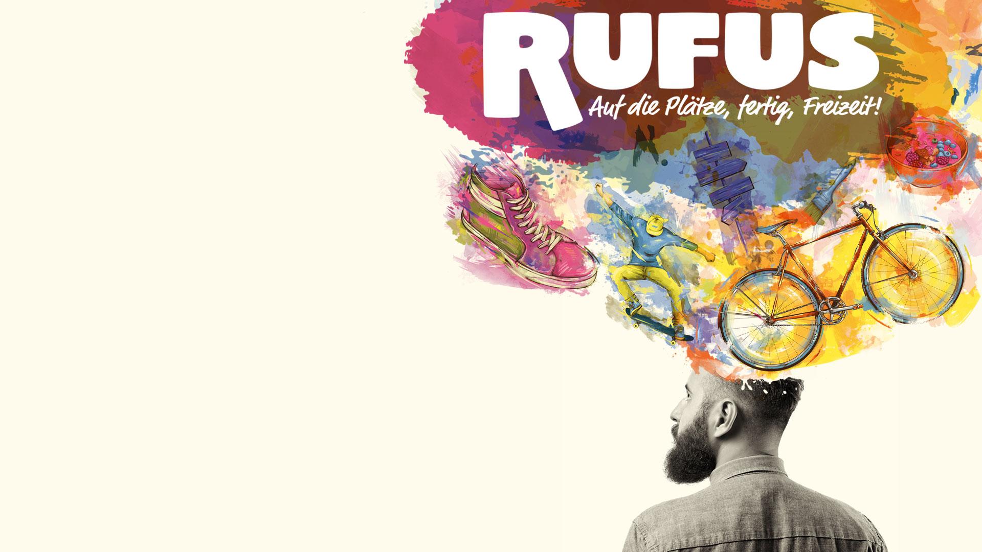 Titelbild der neuen Freizeitmesse RUFUS in Bremen